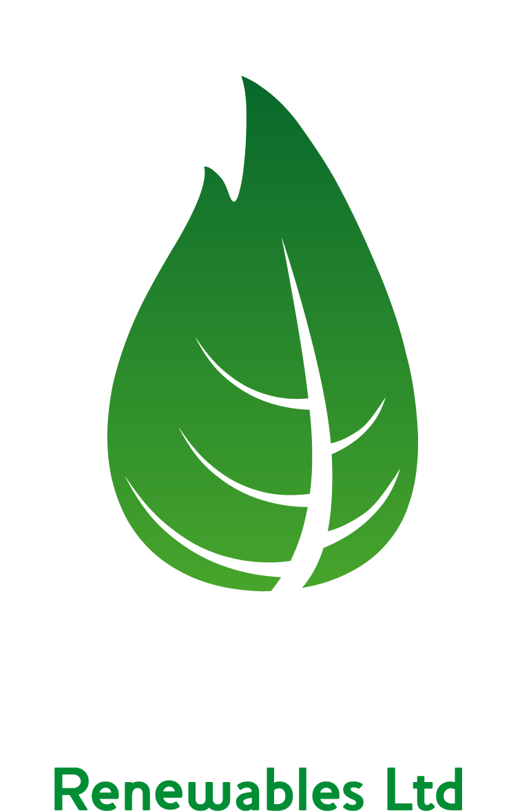 Green leaf and text logo of Teesdale Renewables